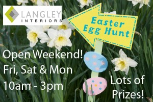 Langleys Easter open weekend