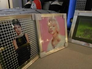 Audrey Hepburn and Marilyn Monroe handmade pictures