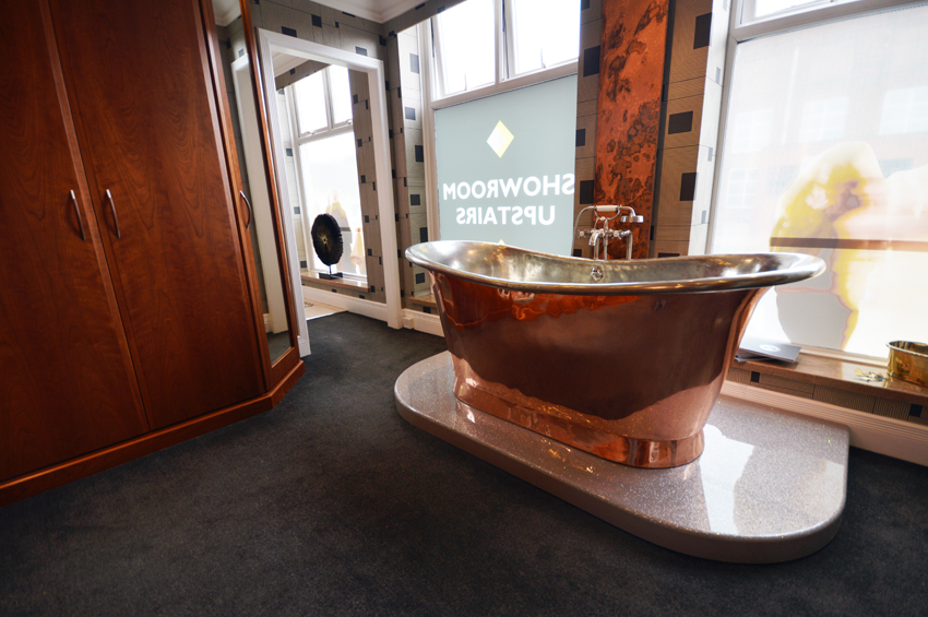EXCLUSIVE Designer William Holland Copper Baths now on Display