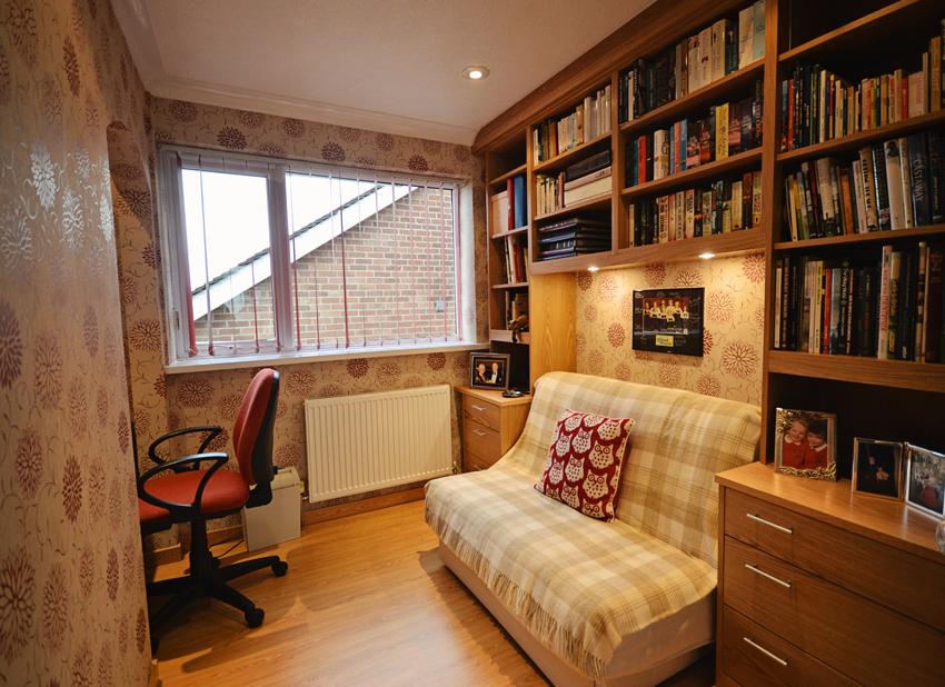 Custom Made Snug Bookcase: Bespoke Furniture
