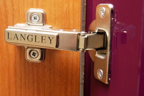 Langley walk in wardrobe detailing