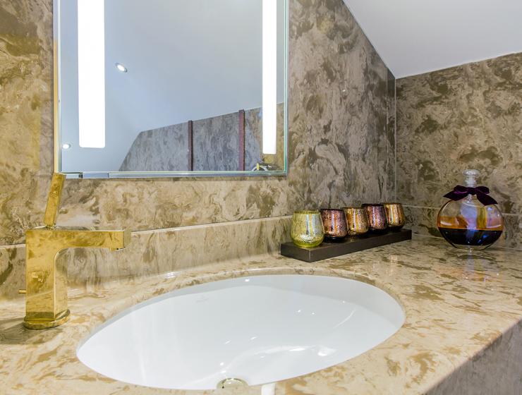 Versital marble style vanity top