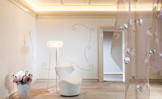 decorative wall panels with light up coving