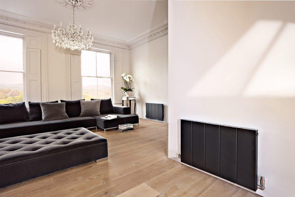 BLOK horizontal designer radiator - VOLCANIC