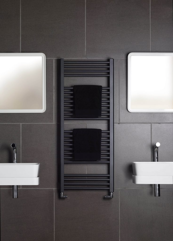 Deline - Volcanic bathroom radiator