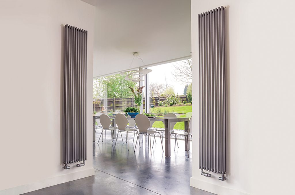 bisque designer radiators in silver