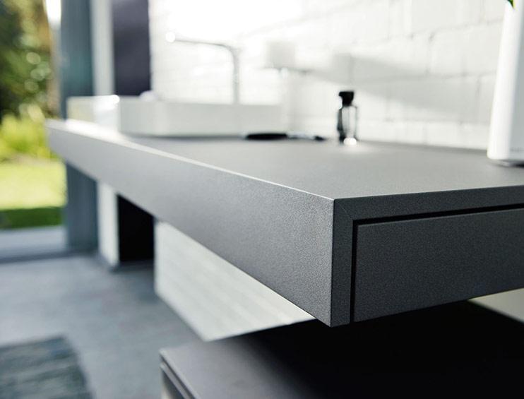 modern under sink cabinet