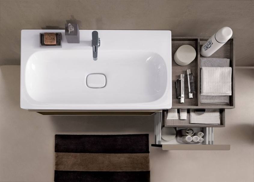 storing solutions at geberit bathroom cabinet