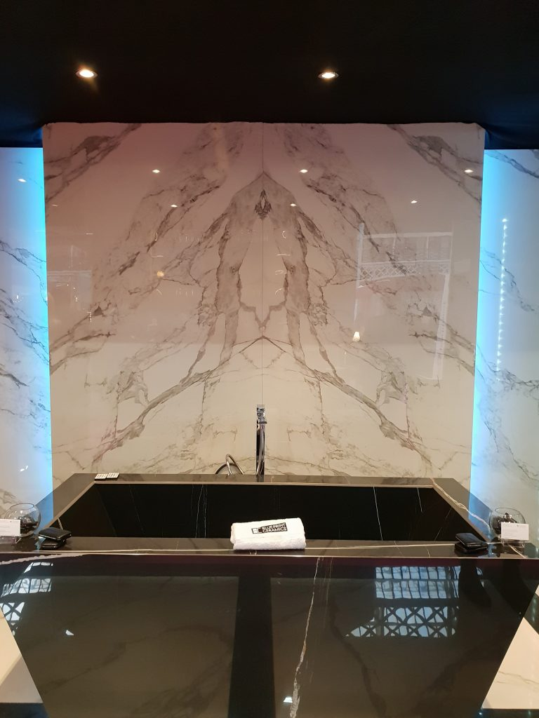 Back Lit marble panel