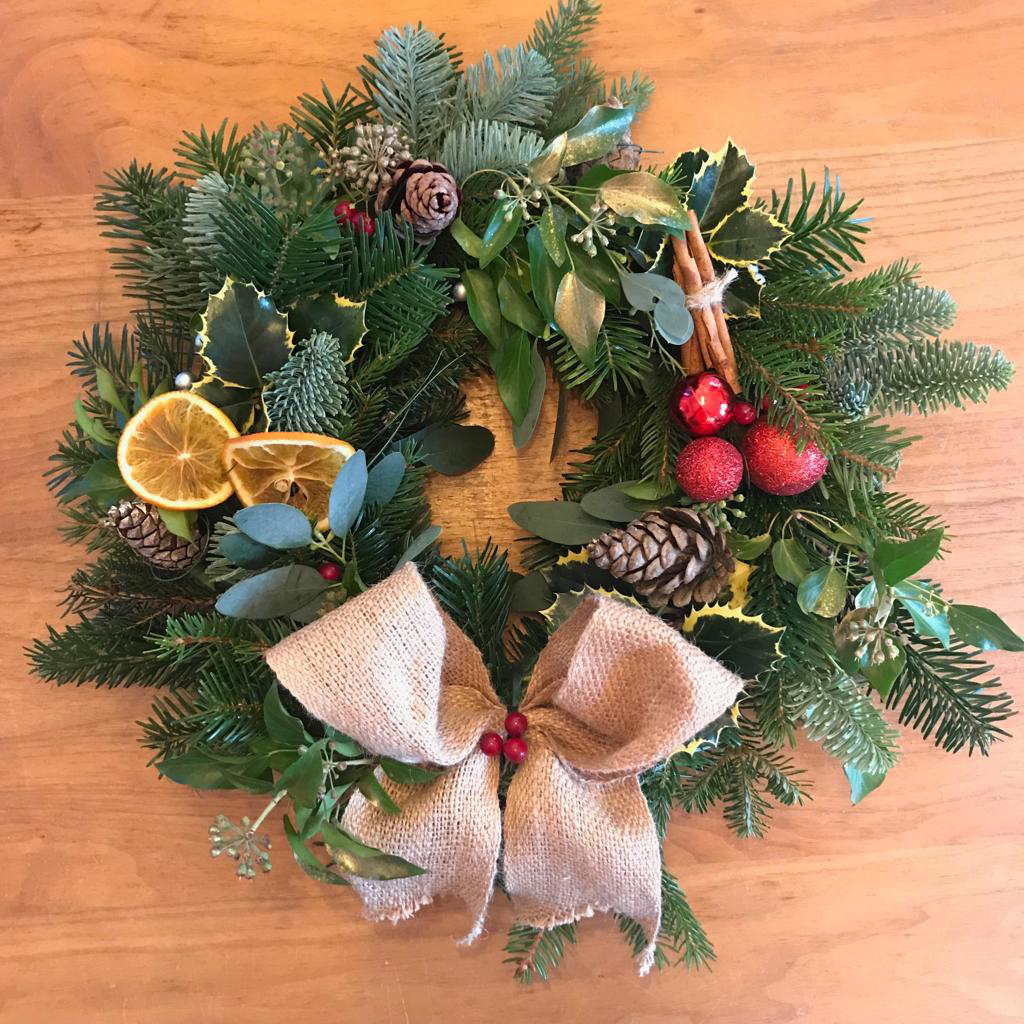 Christmas Wreath Making Workshop – Success!