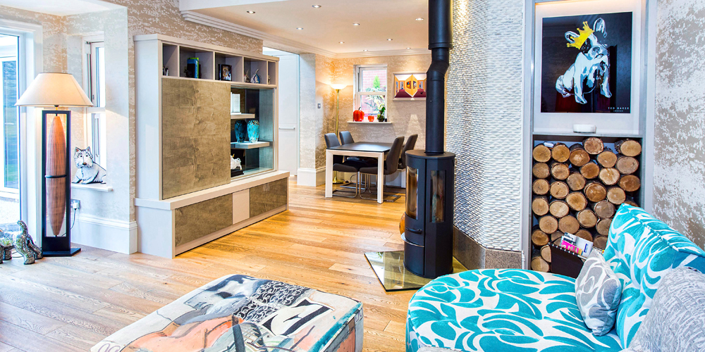 Bespoke Living Room Furniture In Sycamore Exotic Wood