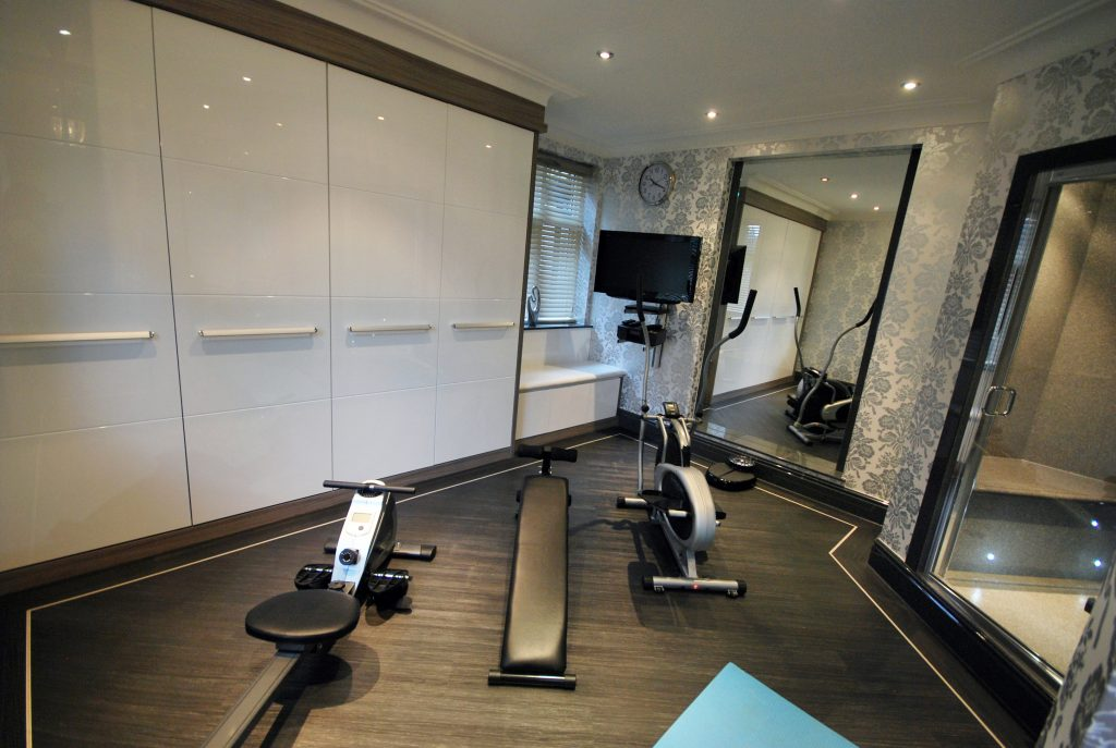 Getting Fit for The New Year : Stylish Home Gym