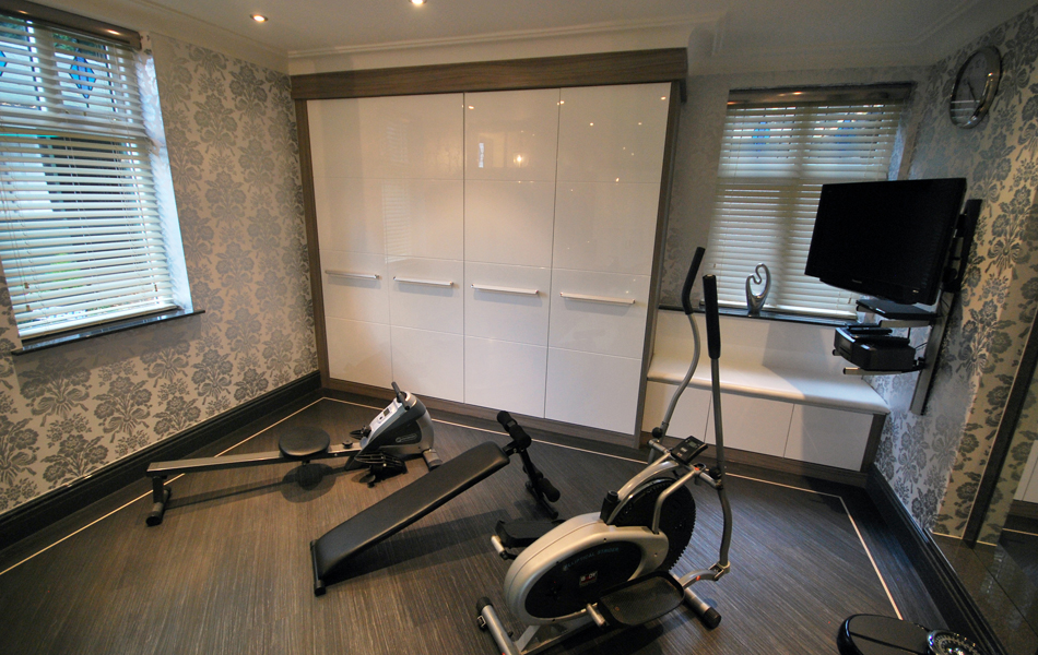 Langley Interiors Made To Order Fitter Storage Cabinets For Gym