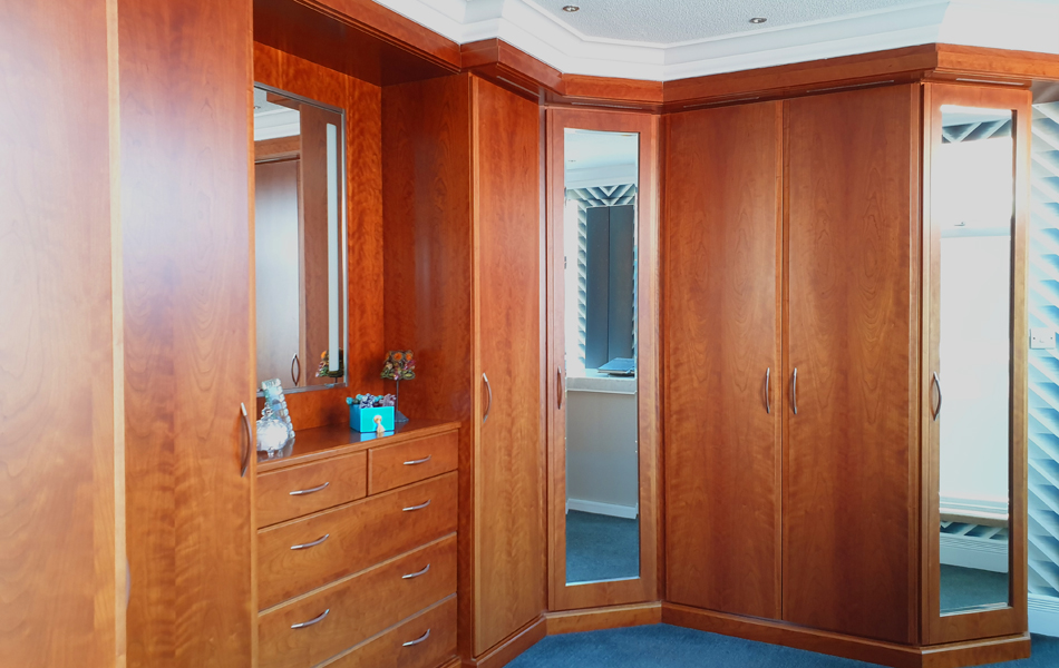 Cherry Display Dressing Room wardrobes